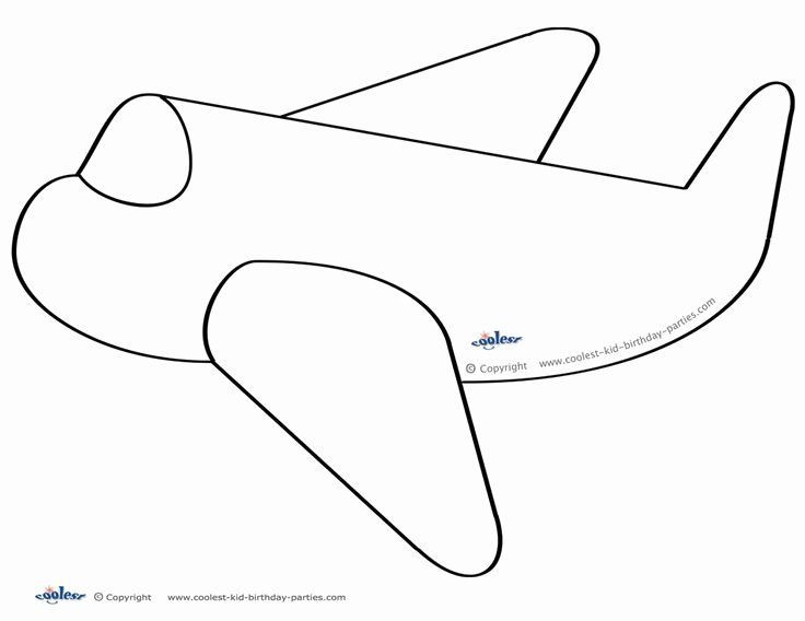 Airplane Template to Cut Out Paper Airplane Template Luxury 79 Best About Airplane