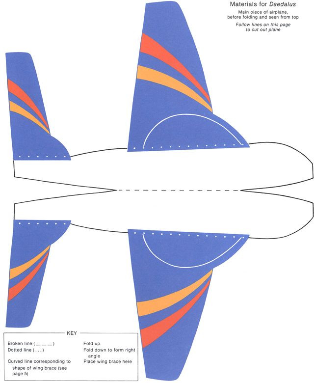 Airplane Template to Cut Out Pin On Paper toys Puzzles Color Games