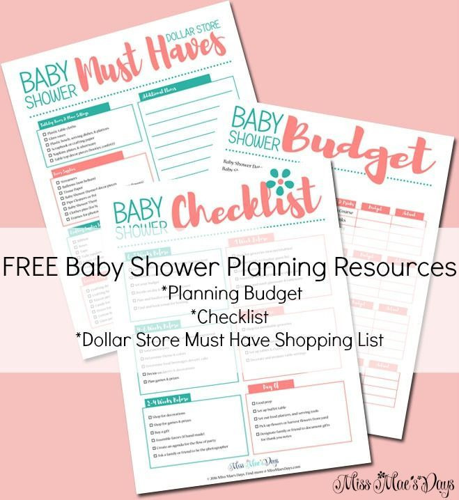 Baby Shower Planner Template Free Baby Shower Planning Resources Bud Planner