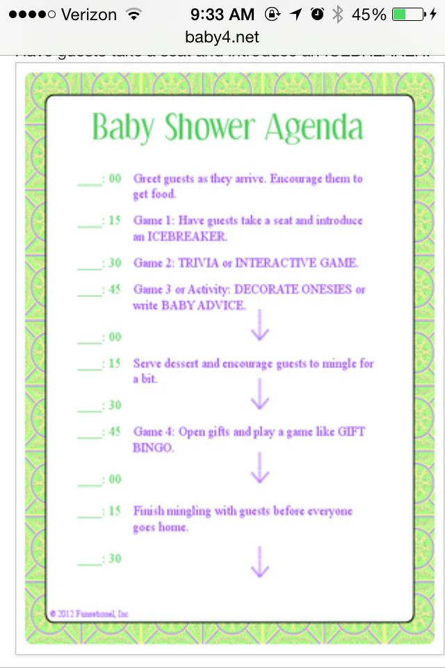 Baby Shower Planner Template Pin by Julie Rodriguez On Baby Shower Ideas