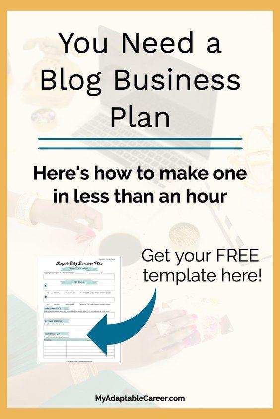 Blog Business Plan Template Dubai – Uae