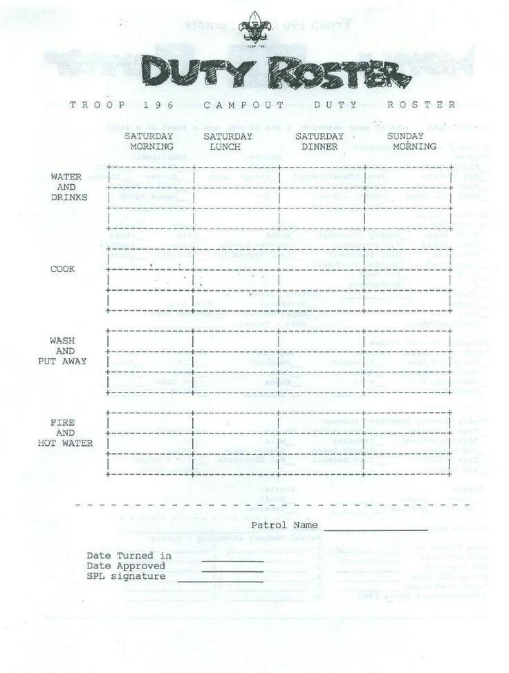 Boy Scout Meal Planning Template Fb69d5b2e23d0c Ab289d B6 738—975