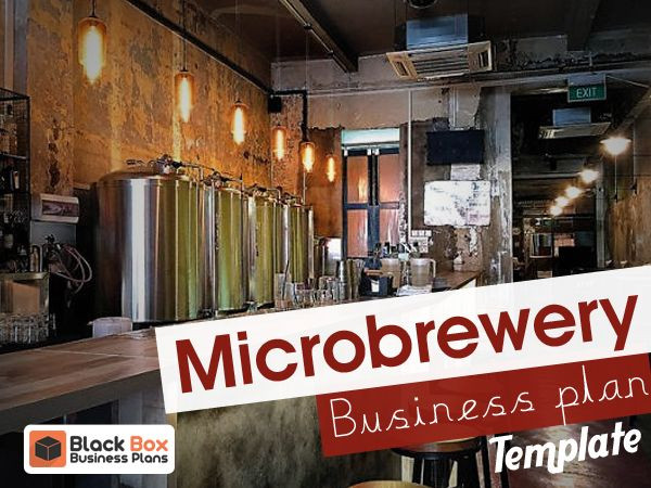 Brewery Business Plan Template Microbrewery Business Plan Template