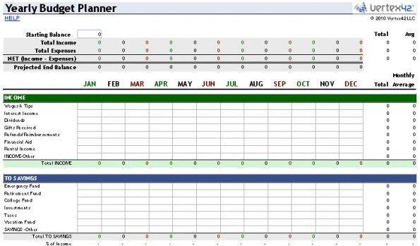 Budget Planner Template Excel Vorlagen Die 5 Besten Quellen Für Professionelle