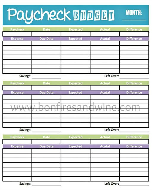 Budget Planner Template Printable Pin by April Rowell On organization