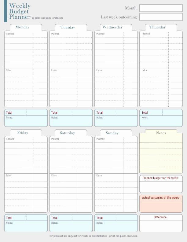 Budget Planner Template Printable Pin On Line Project Planning Templates