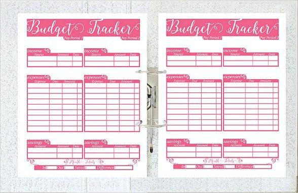 Budget Planner Template Printable Printable Daily Bud Planner Template Daily Bud