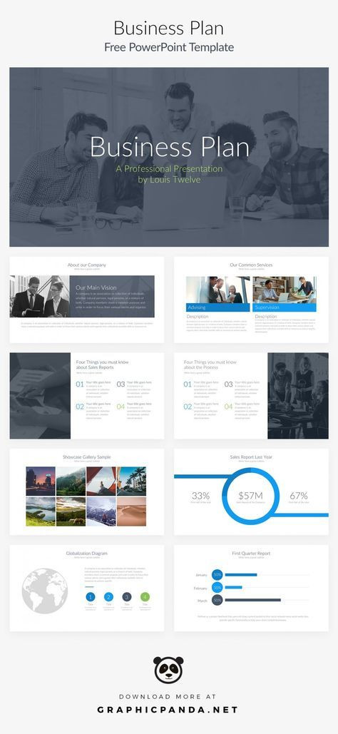 Business Plan Powerpoint Template Free Business Plan Powerpoint Template 10 Free Slides for