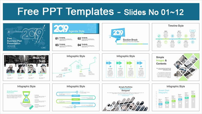 Business Plan Powerpoint Template Free Business Plan Template Powerpoint Beautiful 2019 Business