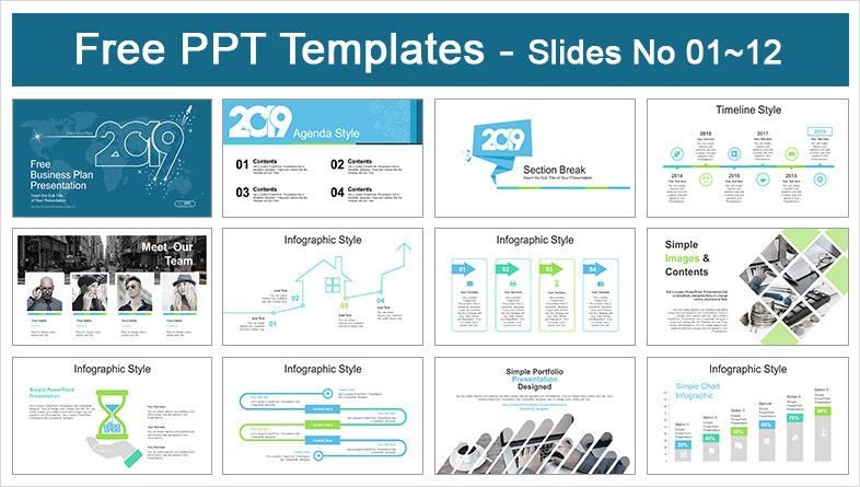 Business Plan Ppt Template Free Business Plan Powerpoint Template Best 2019 Business Plan