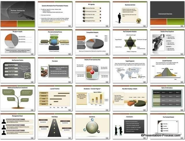 Business Plan Ppt Template Free Business Proposal Template Powerpoint Sample Business