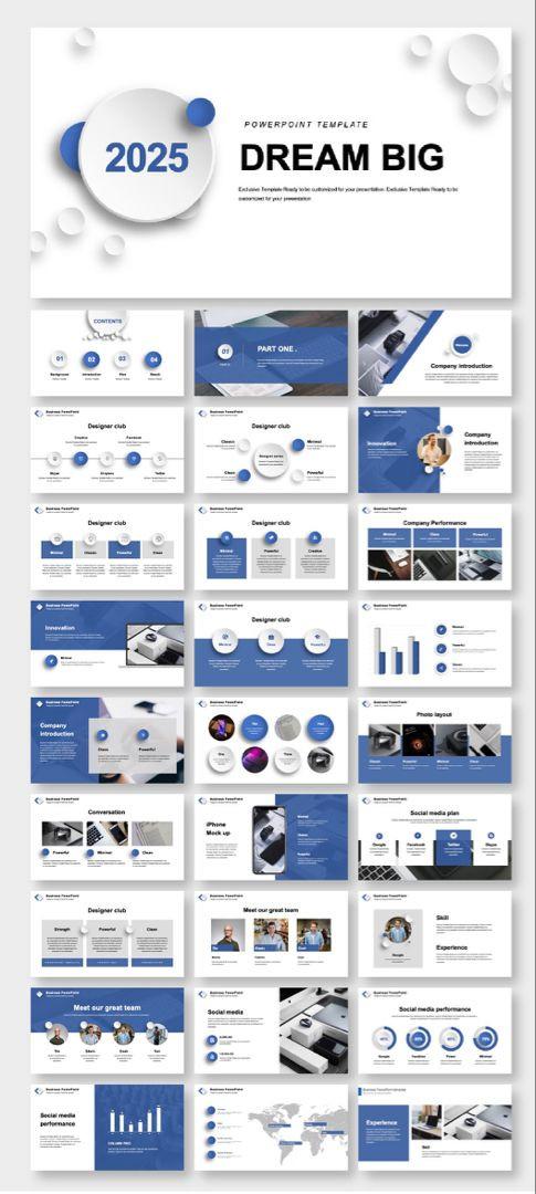 Business Plan Presentation Template A Pany Introduction & Business Plan Presentation Template
