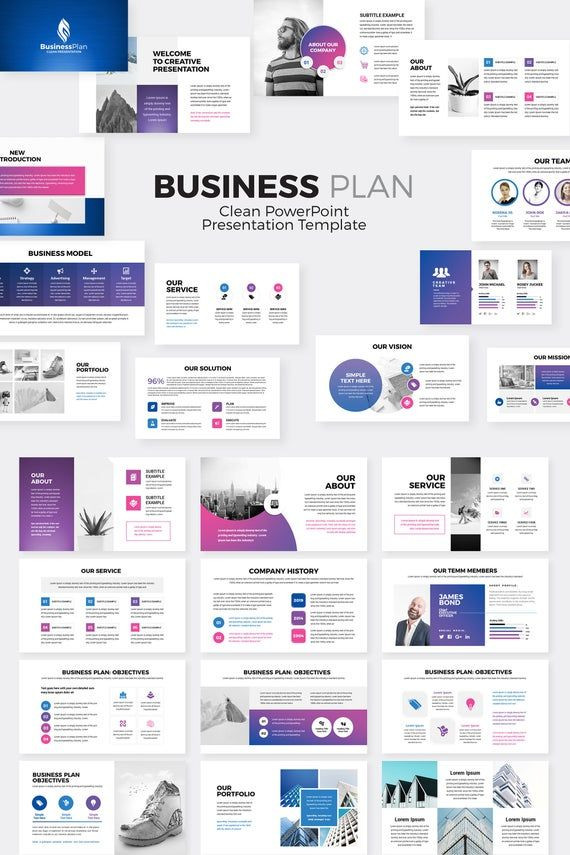 Business Plan Presentation Template Business Plan Powerpoint Presentation Template