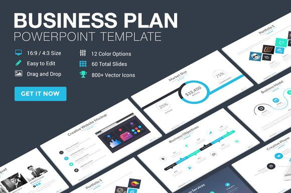 Business Plan Presentation Template Business Plan Powerpoint Template