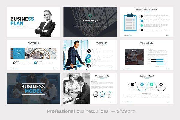 Business Plan Presentation Template Business Plan Powerpoint Template Presentations 3