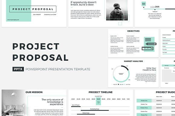 Business Plan Presentation Template Project Proposal Powerpoint Template