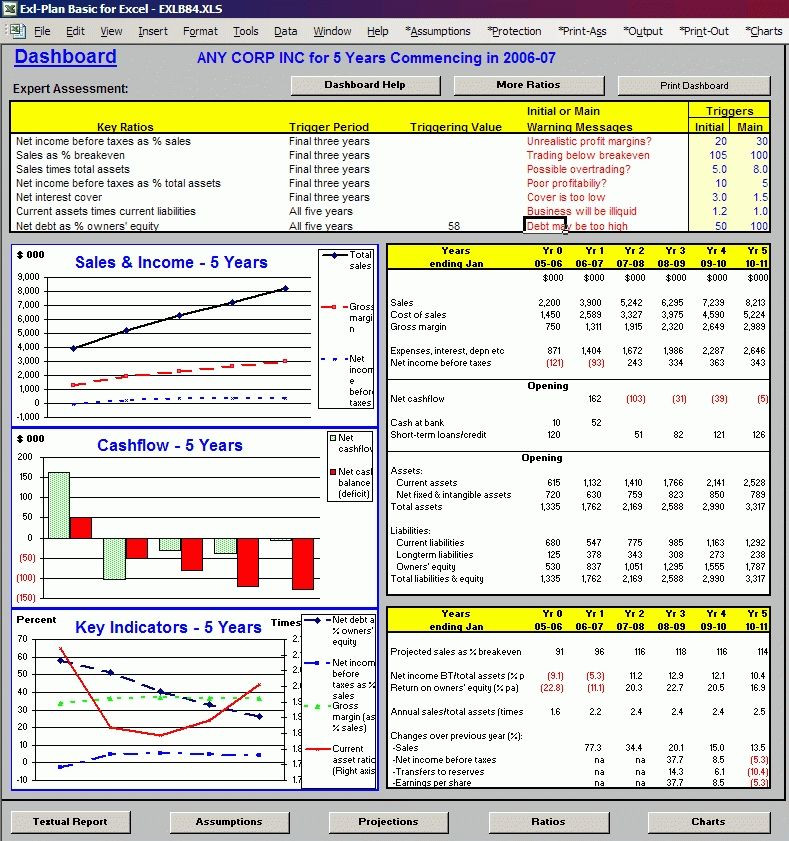 Business Plan Template Excel Excel Business Plan Template Boblab Inside Simple Business