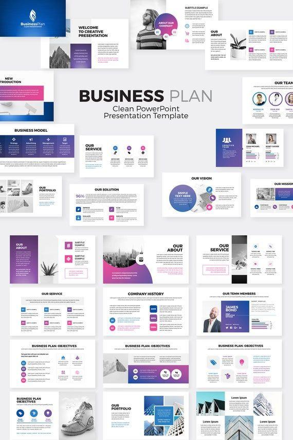 Business Plan Template Powerpoint Business Plan Powerpoint Presentation Template