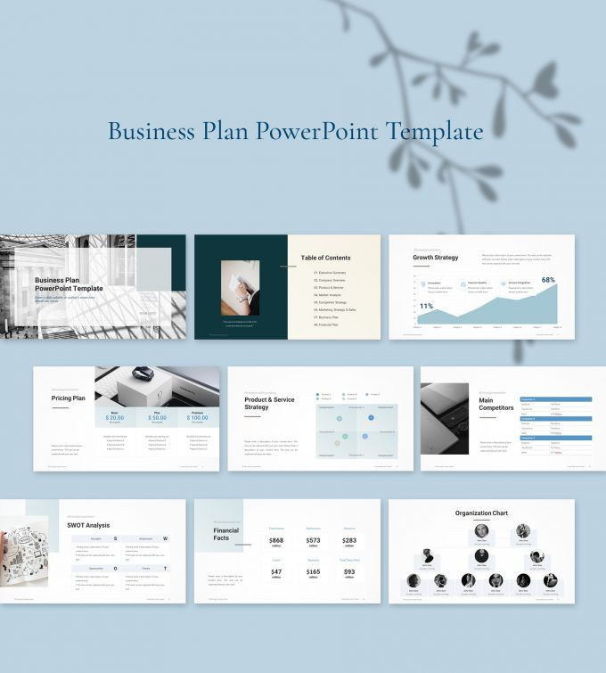 Business Plan Template Powerpoint Pin On Powerpoint Templates