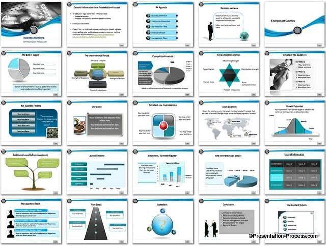 Business Plan Template Powerpoint Ppt Business Plan Template Unique Business Numbers
