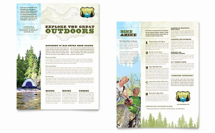 Campground Business Plan Template Campground Business Plan Template Lovely Nature Camping