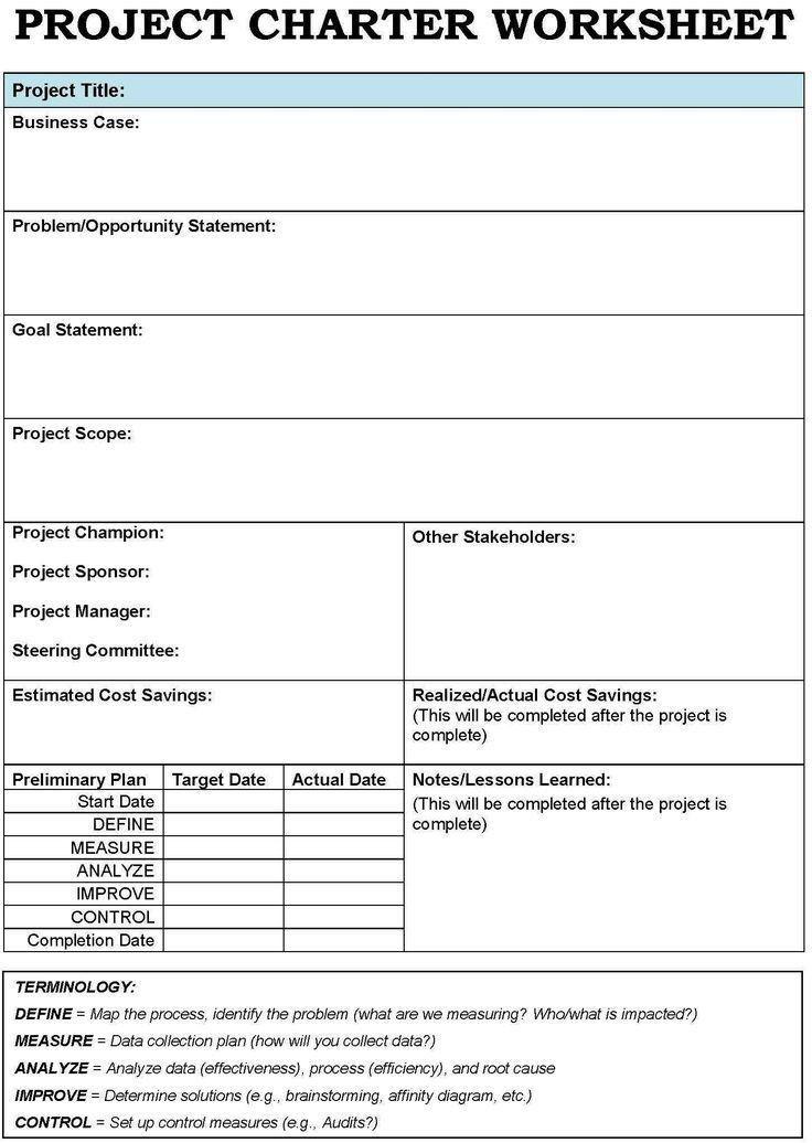 Case Management Service Plan Template Best 25 Project Charter Ideas On Pinterest