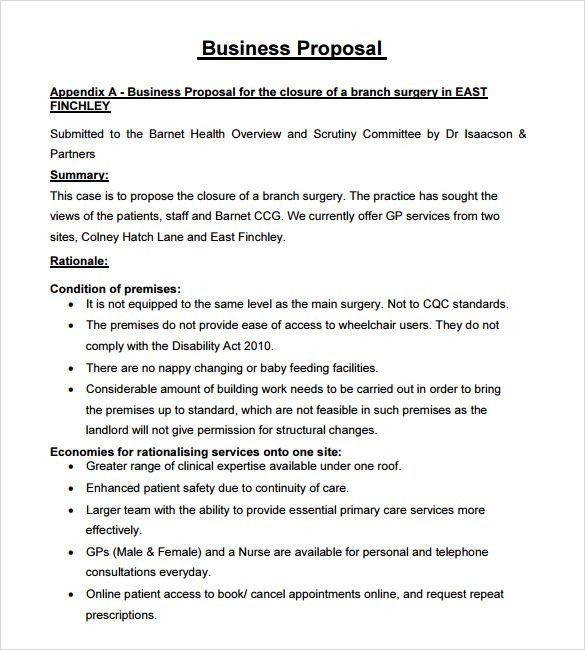 Catering Business Plan Template Business Proposal Sample Pdf] 68 Images 6 Sample Of
