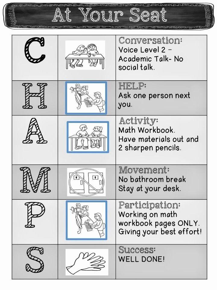 Champs Classroom Management Plan Template Champs Classroom Management Plan Template Luxury Pinterest