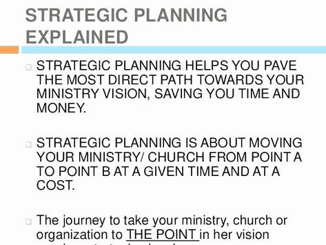 Church Strategic Planning Template Church Strategic Planning Template Fresh Ministry Strategic