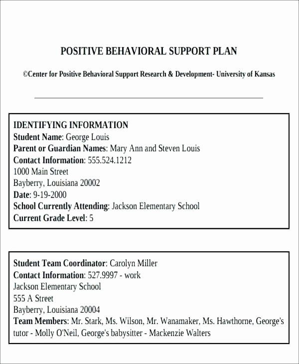 Classroom Management Plan Template Classroom Management Plan Template Elementary Beautiful