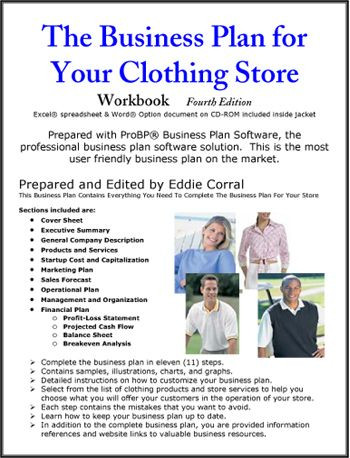 Clothing Business Plan Template Clothing Store Business Plan