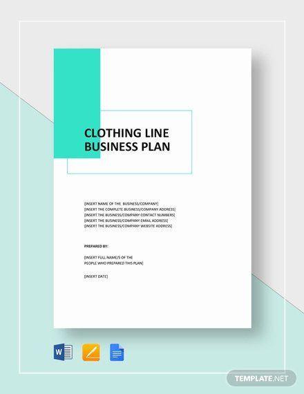 Clothing Line Business Plan Template Clothing Line Business Plan Template Best Clothing Line