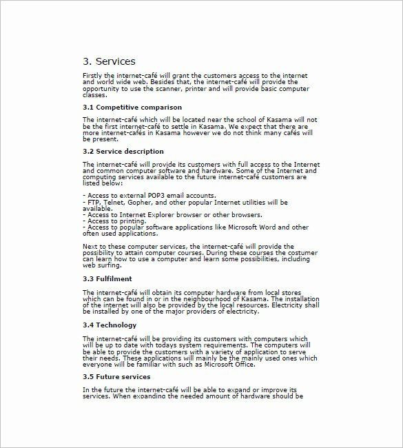 Coffee Shop Business Plan Template Cafe Business Plan Template New Contract Transition Plan