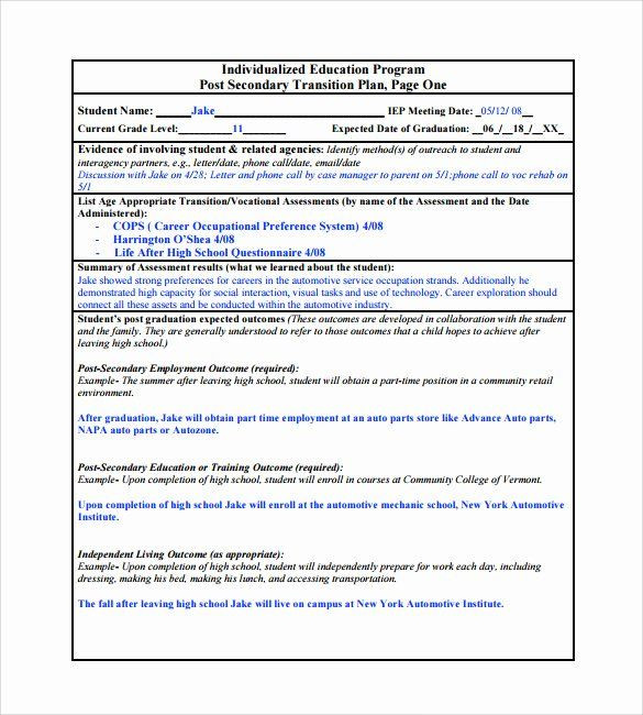 College Student Success Plan Template Project Management Transition Plan Template Luxury