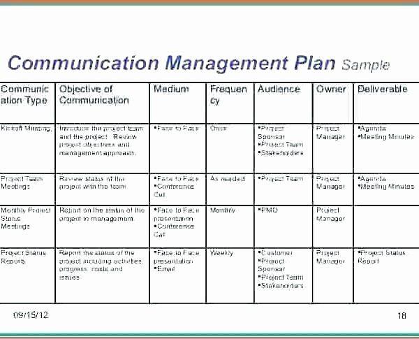 Communication Plan Template Excel Munication Plan Template Excel Inspirational Munication