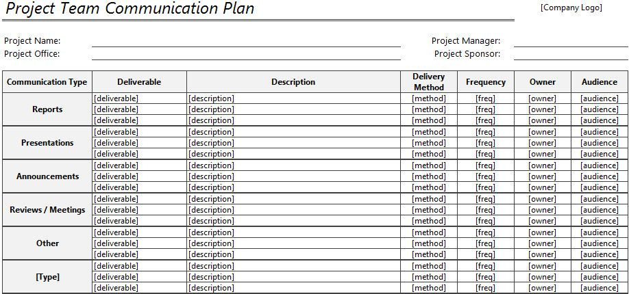 Communication Plan Template Excel Munication Plan Template Excel Munication Plan Template