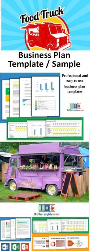 Concession Trailer Business Plan Template Business Plan Template for Starting and Running A Food Truck