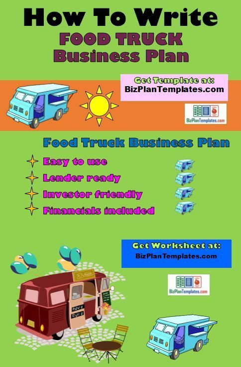 Concession Trailer Business Plan Template Finding Line Business Ideas