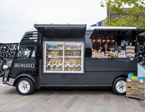 Concession Trailer Business Plan Template Ico Design Benugo Brand Environment Print