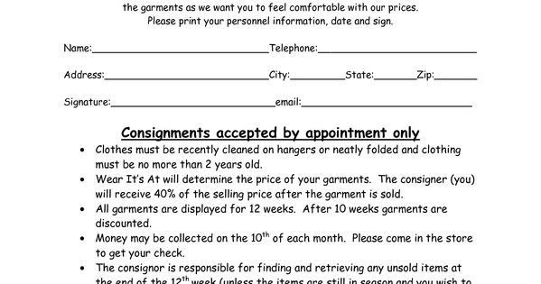 Consignment Shop Business Plan Template Consignment Shop Business Plan Template Beautiful Clothing
