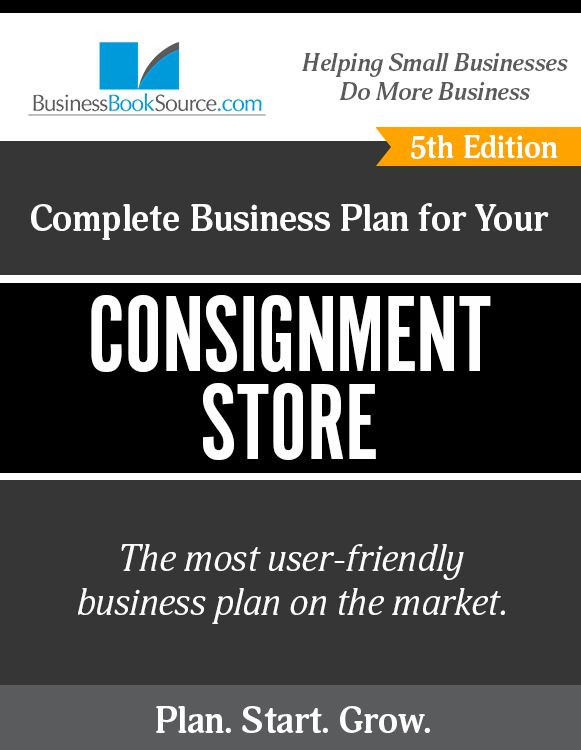 Consignment Shop Business Plan Template How to Write A Business Plan for A Consignment Shop
