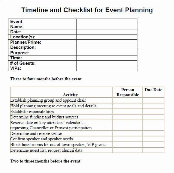 Corporate event Planning Checklist Template Corporate event Planning Checklist Template Awesome Free 16