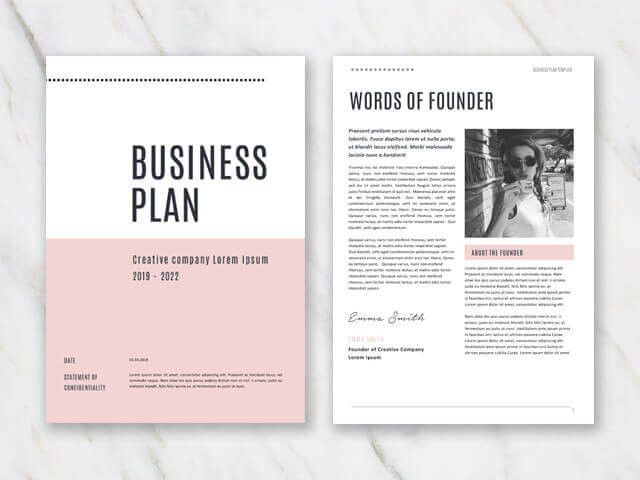 Creative Business Plan Template Creative Business Plan Template Inspirational Business Plan