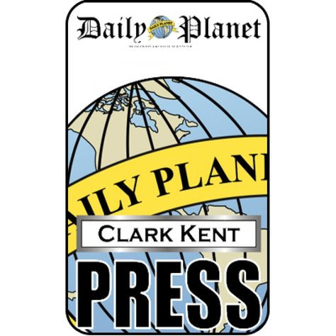 Daily Planet Press Badge Template 10 Best Munications History Images