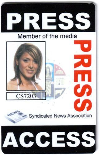 Daily Planet Press Badge Template Daily Planet Press Pass Template Beautiful Sample Press