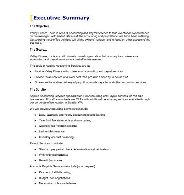 Delivery Service Business Plan Template Business Proposal Template Free Word Pdf Documents