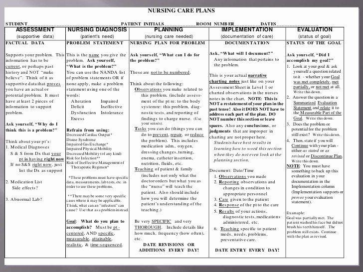Diabetic Care Plan Template Examples Nursing Care Plans Inspirational Nursing Care
