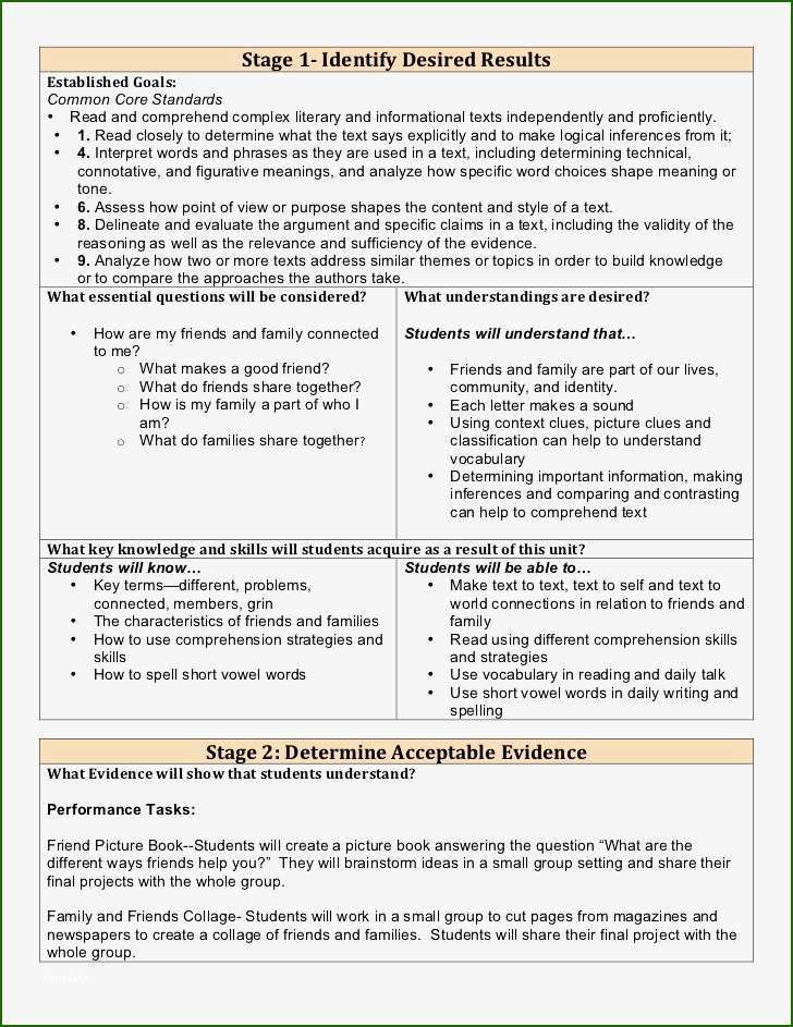 Differentiated Lesson Plan Template Differentiated Instruction Lesson Plan Template 13