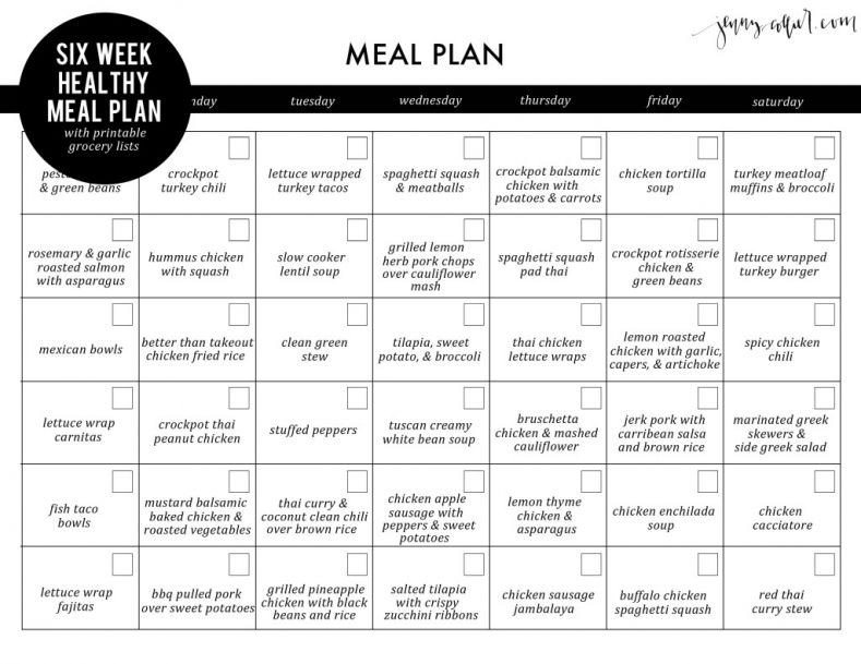 Eat Clean Meal Plan Template Pin On Vassistansolutions Brand