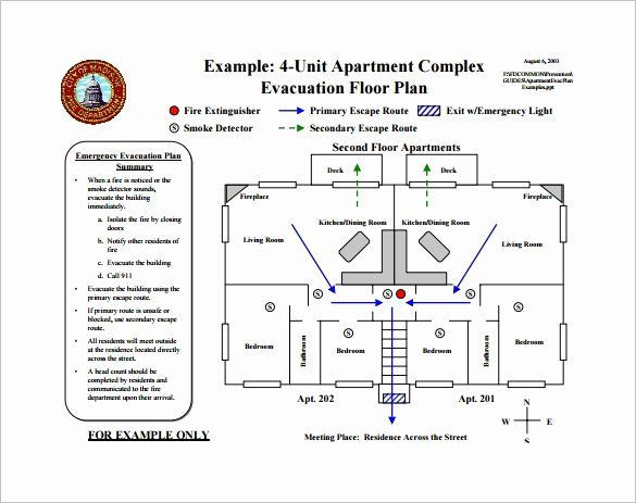 Emergency Evacuation Plan Template Free Emergency Evacuation Plan Template Free Lovely 10 Evacuation